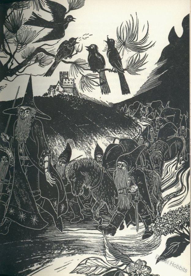 the theme of the hobbits by j r r tolkien There are numerous interesting factors to be explored in jrr tolkien's   earlier fantasy novel, the hobbit, but eventually developed into a much larger  work.
